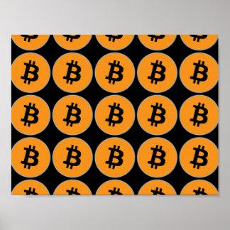 Het Poster van Bitcoin