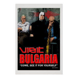 Het poster van Bulgarije