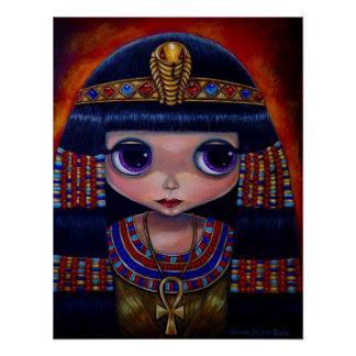 Het Poster van Cleopatra Blythe