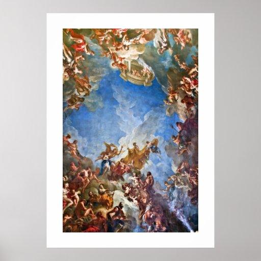 Het Poster van de Allegorie van hercules