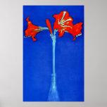Het Poster van de Amaryllis van Mondrian