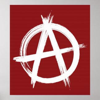 Het Poster van de anarchie