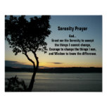 Het Poster van de Avond van het Gebed van de seren