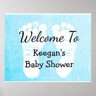 Het Poster van de Banner van het baby shower voor
