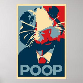 Het Poster van de Campagne van het proefkonijn