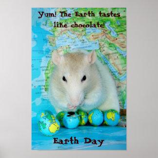 Het Poster van de Dag van de aarde