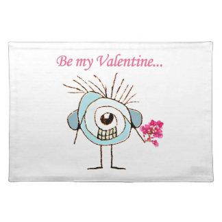 Het Poster van de Dag van Valentijn Placemat
