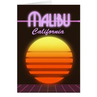 Het poster van de de zonsondergangreis van kaart
