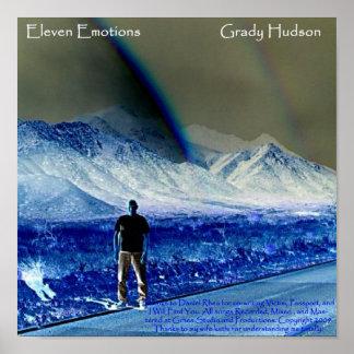 Het Poster van de Dekking van het Album van Grady