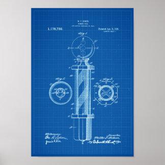 Het Poster van de Druk van het Octrooi van de