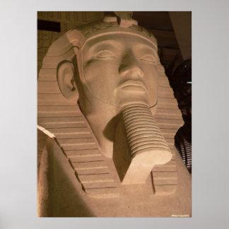 Het Poster van de farao
