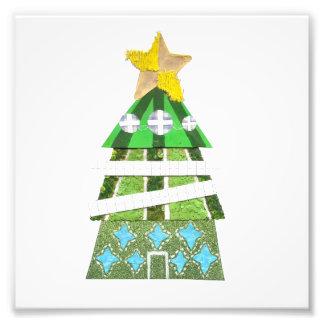 Het Poster van de Foto van de kerstboom