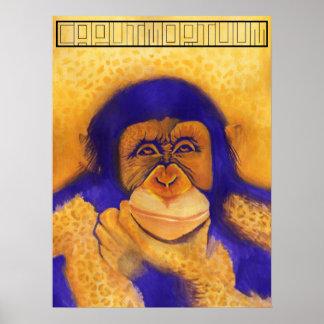 Het poster van de Jachtluipaard Tarzan