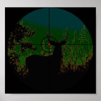 Het Poster van de Jager van de nacht