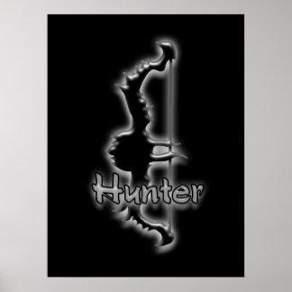 het poster van de jagersboog