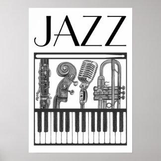 Het Poster van de jazz