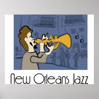 Het Poster van de Jazz van New Orleans