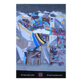Het Poster van de Kunst van de straat