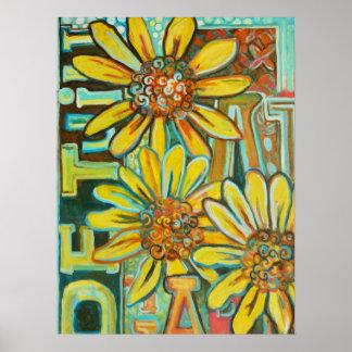 Het Poster van de Kunst van DE Tuin (de Tuin)