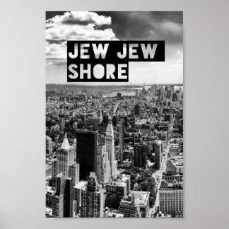 Het Poster van de Kust van Jood Jood