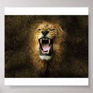 Het Poster van de leeuw
