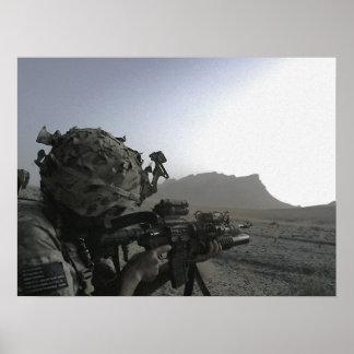 Het Poster van de Militair van het leger