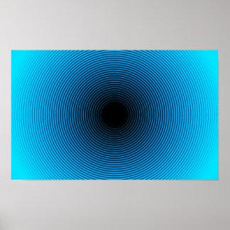 Het Poster van de optische illusie