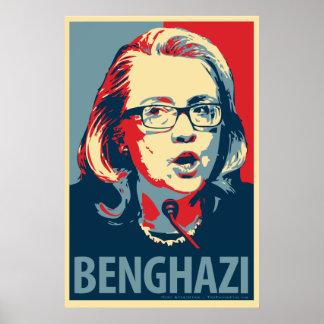"""Het Poster van de Parodie van Hillary Clinton """"Ben"""