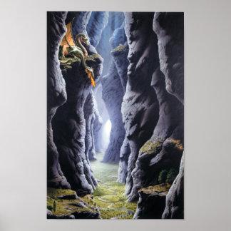 Het Poster van de Pas van de draak