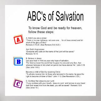 Het Poster van de Redding van ABC