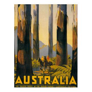 Het Poster van de Reis van Australië van de Briefkaart
