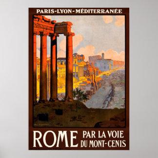 Het Poster van de Reis van Rome