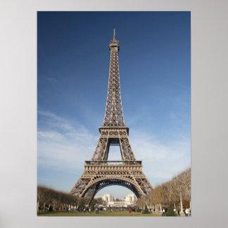 Het Poster van de Toren van Eiffel