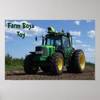 Het Poster van de tractor