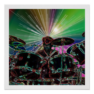 Het Poster van de Tuimelschakelaar van de Trommel