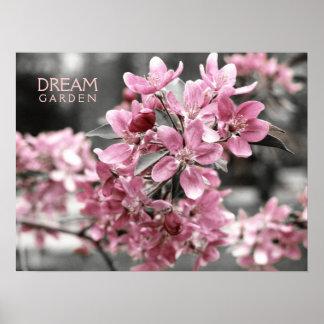 Het Poster van de Tuin van de droom
