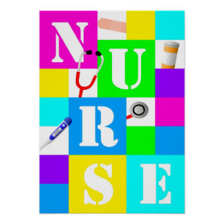 Het Poster van de verpleegster