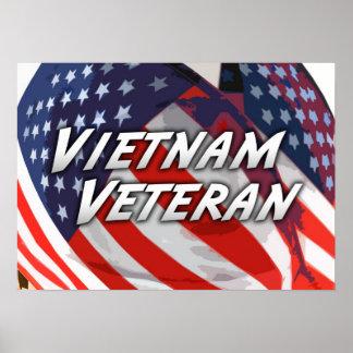 Het Poster van de Veteraan van Vietnam