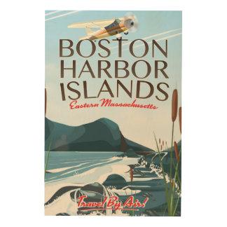 Het poster van de Vlucht van Massachusetts van de