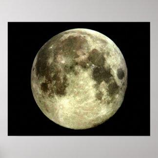 Het Poster van de volle maan