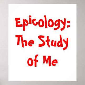 Het Poster van Epicology