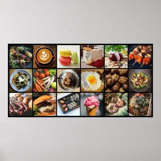 Het poster van Foodie/van de Chef-kok