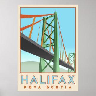 Het Poster van Halifax Deco