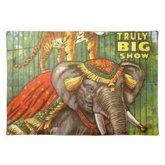 Het Poster van het circus Placemat