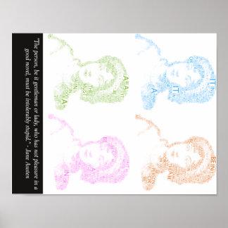 Het Poster van het Citaat van Jane Austen