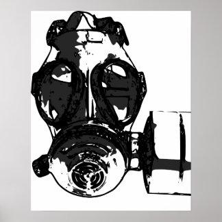 Het Poster van het gasmasker