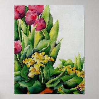 Het Poster van het Geheugen van de lente