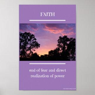 Het Poster van het geloof