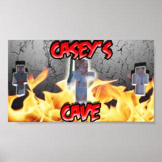 Het Poster van het Hol van Casey