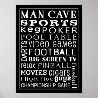 Het Poster van het Hol van het man